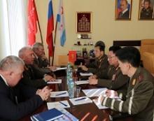 О приёме делегации Посольства Корейской Народно-Демократической Республики в Российской Федерации в Российском Союзе ветеранов