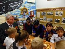 Члены Ярославского областного отделения российского Союза ветеранов провели урок мужества и чести в Ярославской средней школе № 55