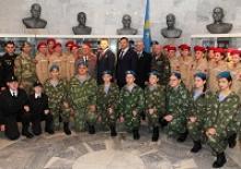 Ветераны Орловщины  участвовали в церемонии  посвящения молодёжи в юнармейцы