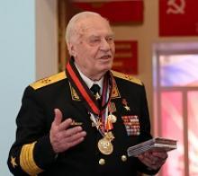 В Российском союзе ветеранов торжественно отметили 90-летие Героя Советского Союза адмирала флота Владимира Николаевича Чернавина