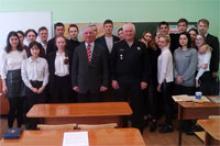 В гимназии №4 г. Чебоксары отметили День моряка-подводника