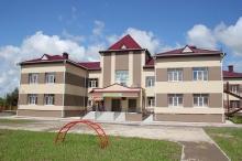 Открылся новый детский сад, в закладке которого принимал участие генерал М.Моисеев