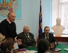 Заседание в Доме РСВ Ассоциации потомков советских воинов-добровольцев в Испании