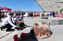 Торжественные мероприятия в честь годовщины прорыва Миус-фронта и освобождения Таганрога прошли на месте наиболее ожесточенных боев в Ростовской области