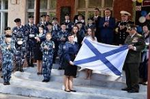 Вологодское региональное отделение Российского Союза ветеранов  приняло участие в открытии первого в Вологодской области морского кадетского класса