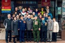 Окружному Совету ветеранов войны, труда, Вооруженных сил и правоохранительных органов Гурьевского городского округа Калининградской области - 25 лет