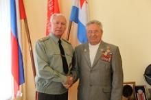 Александру Феофановичу Каменецкому, руководителю ветеранов Ярославской области, 90 лет