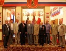 Вручение наград Российского Союза ветеранов дипломатам Чешской Республики