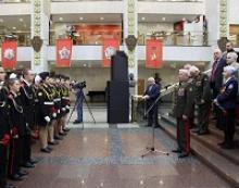 Члены Российского Союза ветеранов вручили кадетам награды – знаки «Юному защитнику Отечества»