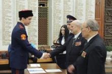 Церемония принятия Клятвы казака