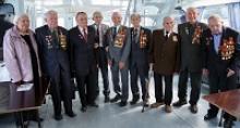 """В Чувашии  ветераны-""""дальневосточники"""" отпраздновали 70-летие Победы над милитаристской Японией во Второй мировой войне прогулкой по Волге на катере и торжественным обедом"""
