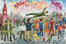 Члены Ярославского областного отделения Российского Союза ветеранов приняли участие в организации и проведении региональной выставки-конкурса «Моё Отечество», посвященной 70-летию Великой Победы