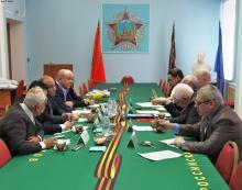 Встреча с делегацией  ветеранов Республики Египет
