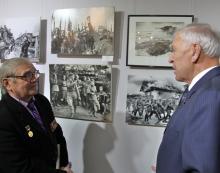 Члены РСВ посетили выставку «Наша Победа» в Фотоцентре