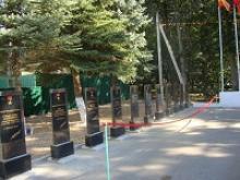 В городе Зубцове Тверской области по инициативе ветеранов открыта Аллея героев