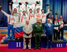Председатель Российского Союза ветеранов генерал армии Михаил Алексеевич Моисеев возглавлял оргкомитет 18-го чемпионата мира по арбалетному спорту