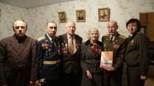 Ветераны в гостях у Героя