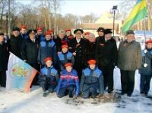 Калининградское областное отделение «Российского Союза ветеранов» прияло активное участие в праздновании 70-летия освобождения Красной Армией от фашистов города Нойхаузен (Гурьевск)
