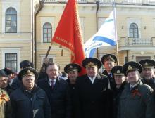 Вологодское региональное отделение РСВ участвовало в митинге в поддержку братского украинского народа и россиян, проживающих на территории Крыма и Украины