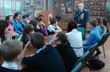 Урок мужества в музее истории ветеранского движения Кузбасса
