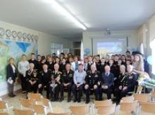 """Всешкольный урок """"Легенды Российского флота"""" провели ветераны в 28-й калининградской школе"""