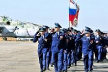 Репортаж с ростовского военного аэродрома