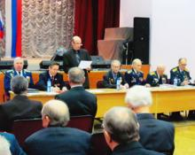 Внеочередная конференция Новгородской областной общественной организации ветеранов войны и военной службы
