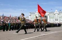Вологодское региональное отделение Российского Союза ветеранов приняло участие в Параде Победы