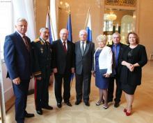 Посещение посольства Чешской Республики в России