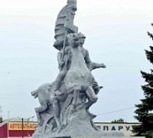 Егорлыкские ветераны, патриотическая молодёжь, общественность отстояли памятник историческому событию на Донской земле