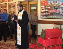 В городе Лысьва Пермского края состоялась церемония погребения русского солдата Константина Пильникова, чьи останки были обнаружены спустя 73 года после гибели