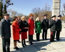 Участие делегации Российского Союза ветеранов в открытии Центрального Поста № 1в городе Калининграде