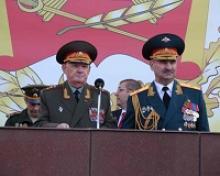 Генерал-полковник Владимир Иванович Гребенюк принял участие в праздновании дня рождения Московского суворовского военного училища