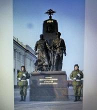 Члены Тульского регионального отделения Российского Союза ветеранов 3 декабря 2014 года приняли участие в торжественной церемонии открытия памятника героям Первой мировой войны