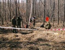 Первая совместная Российско-китайская поисковая экспедиции по увековечению памяти советских воинов, погибших на территории Китая, «Вахта Памяти, Китай – 2015» начала работать 12 мая 2015 года