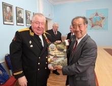 Прием делегации из Китая в Российском Союзе ветеранов
