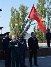 В Парке Победы состоялись мероприятия с участием казачьих обществ Саратовской области