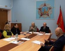 Заседание общественной комиссии по работе с молодежью Российского Союза ветеранов