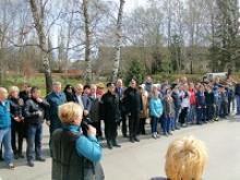 На территориях 11 средних школ Гурьевского района Калининградской области заложены Аллеи Победы