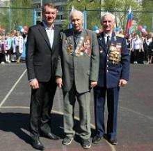 В Тульской области с 5 мая 2015 года проводились торжественные собрания в школах, посвященные 70-летию Великой Победы