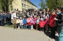 Торжественной линейкой школы № 48 города Тулы в Парке ветеранов отмечено 70-летие Великой Победы