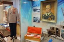 Члены Удмуртского республиканского отделения Российского Союза ветеранов приняли участие в церемонии открытия выставки, посвящённой Д. Ф. Устинову