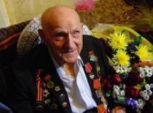 Ярославль: фронтовик Фёдор Николаевич Уткин, взявший Берлин, отметил свой 100-летний юбилей