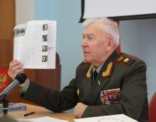 Председатель РСВ генерал армии М.А. Моисеев встречался с руководителями, представителями молодежных объединений и организаций страны