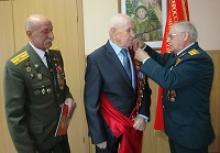 Членам Вологодского регионального отделения Российского Союза ветеранов - участникам войны с Японией  вручены памятные медали