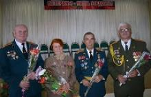 Члены Вологодского регионального отделения Российского Союза ветеранов провели вечер памяти с учащимися средней школы № 20