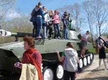 В Вологде в парке Победы открылся музей военной техники