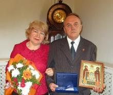 Члены Вологодского регионального отделения Российского Союза ветеранов отмечены медалями «За любовь и верность»