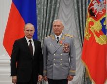Президент Российской Федерации Владимир Владимирович Путин наградил Михаила Алексеевича Моисеева орденом
