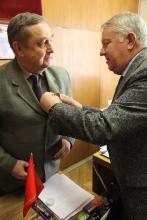 А.Семенов награжден Высшей наградой Российского Союза ветеранов